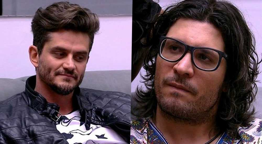 Marcos e Ilmar, do BBB 17.