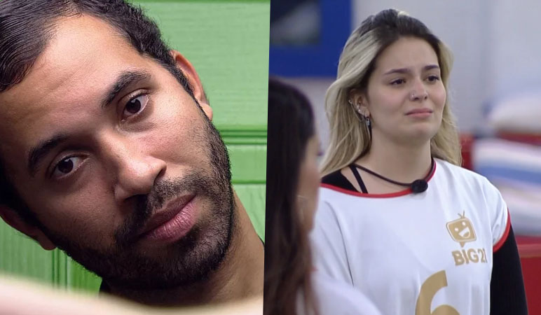 Gilberto e Viih Tube, participantes do BBB 21.